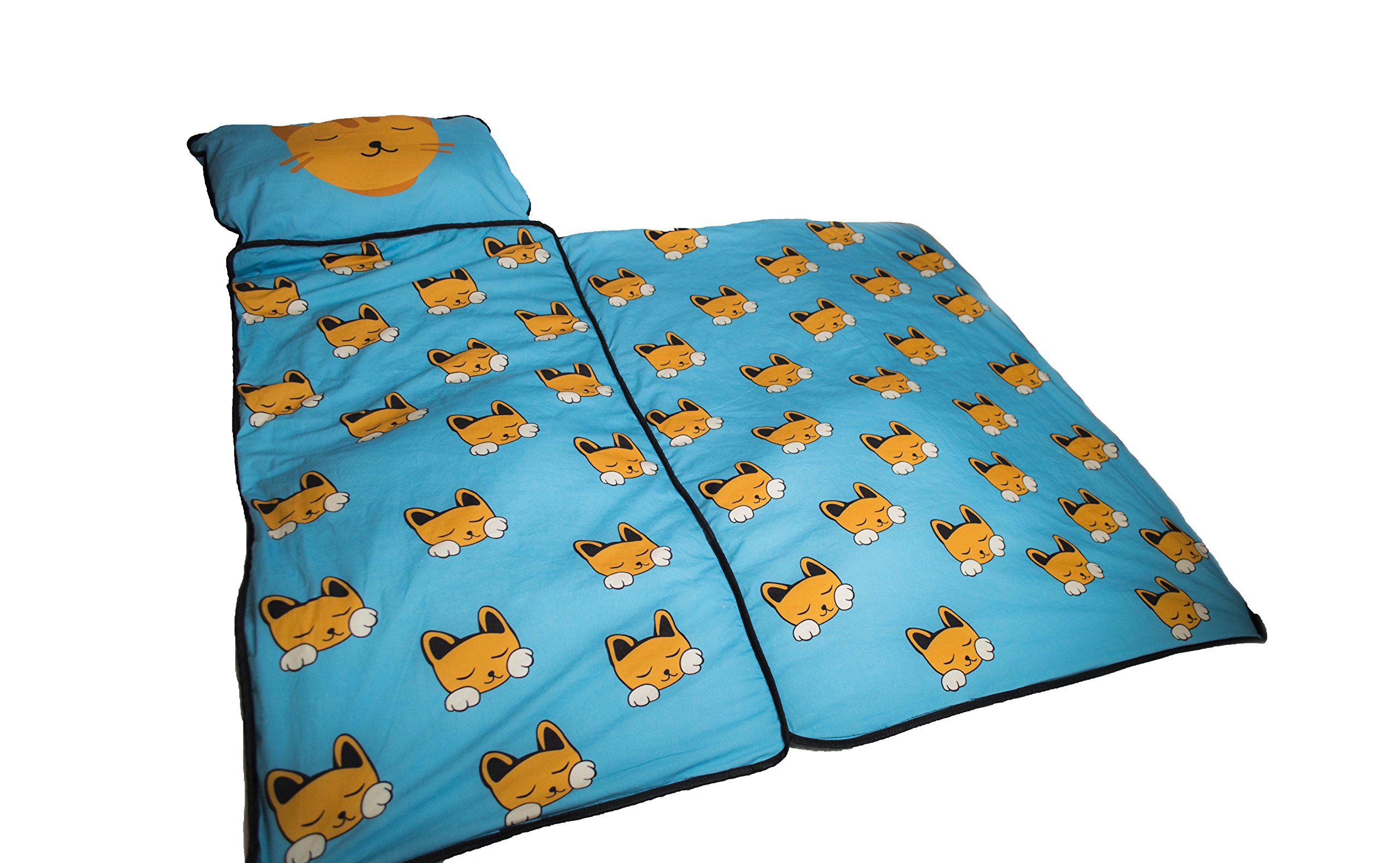 Cat Nap Mat For Toddlers Indoor Outdoor Mat Ocean Blue Built In Blanket For Babies And Toddlers Read More At The Image Link Th Cat Nap Nap Mat Cat Door