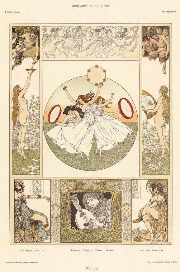 "nocnitsa: "" Heinrich Lefler "" one of my favorite illustrators"