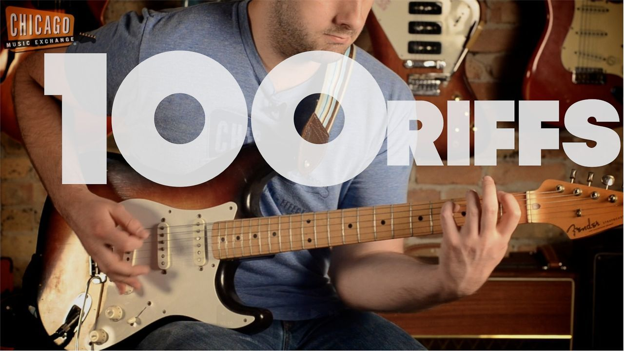 100 Riffs (A Brief History of Rock N' Roll). Alex Chadwick plays 100 famous guitar riffs in one take giving you a chronological history of r...