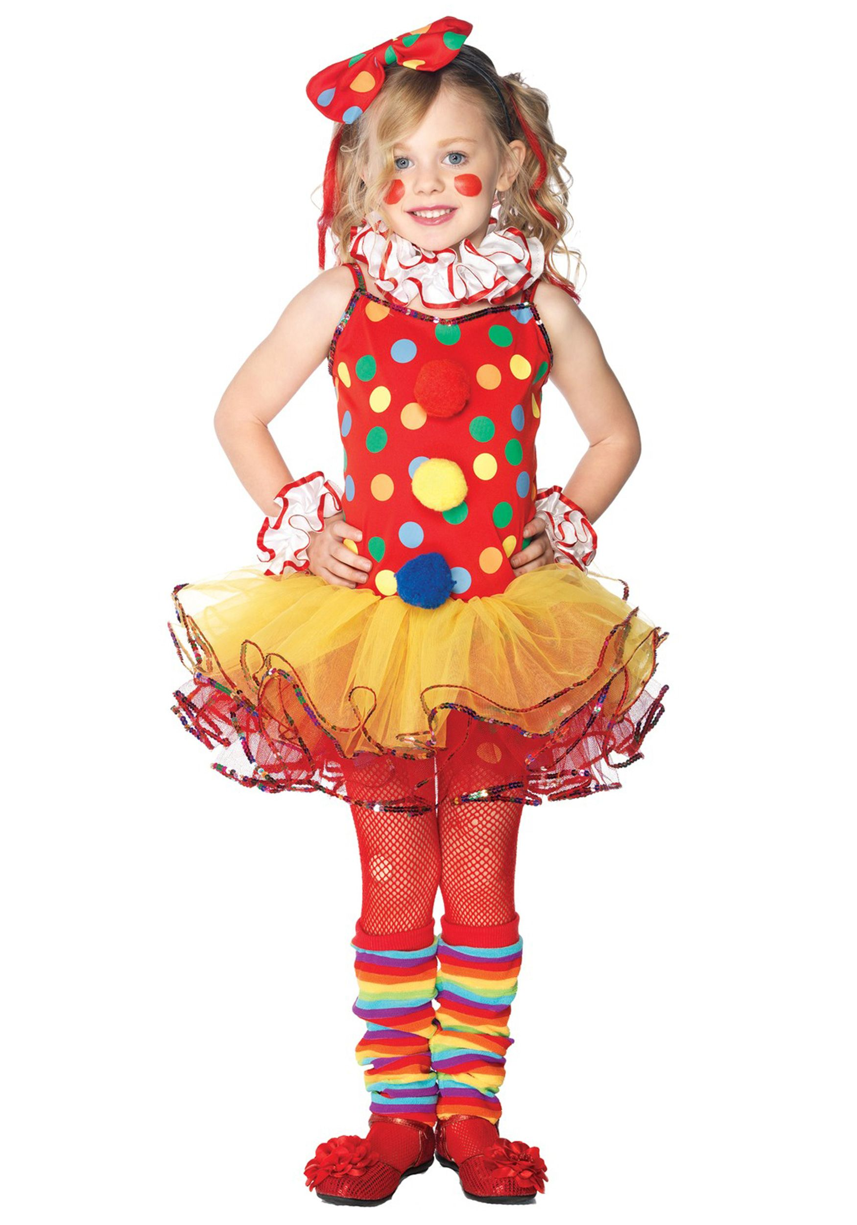 Girls Circus Clown Cutie Costume, wouldn't be too hard to replicate