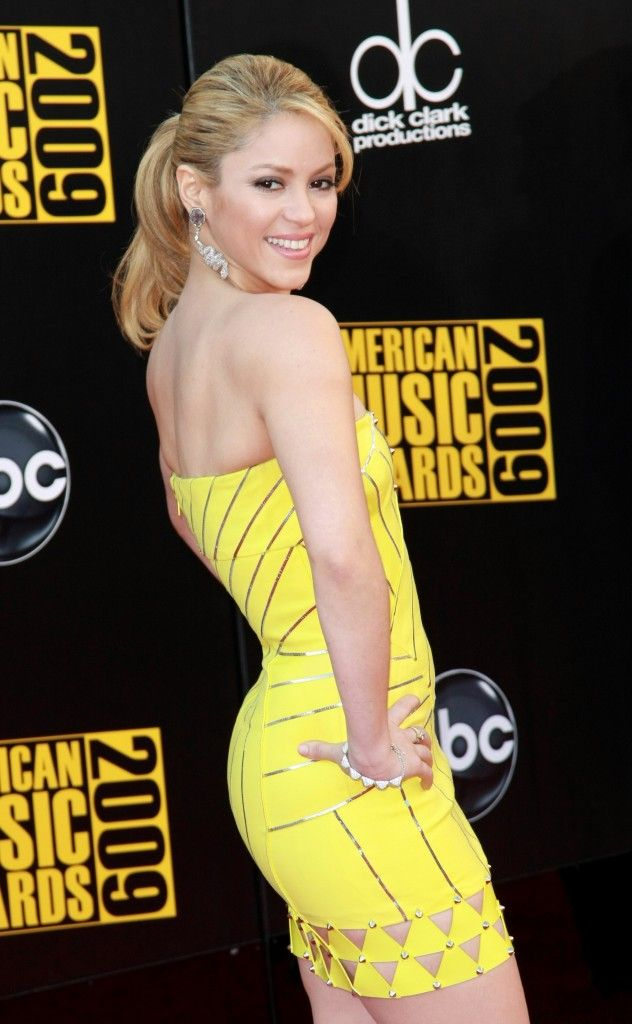 Can not shakira yellow dress