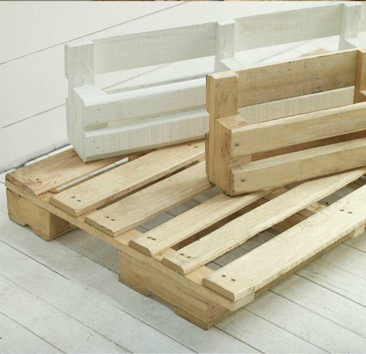 Estanter a de palet paso a paso almacenamiento con - Como hacer estanterias de madera ...
