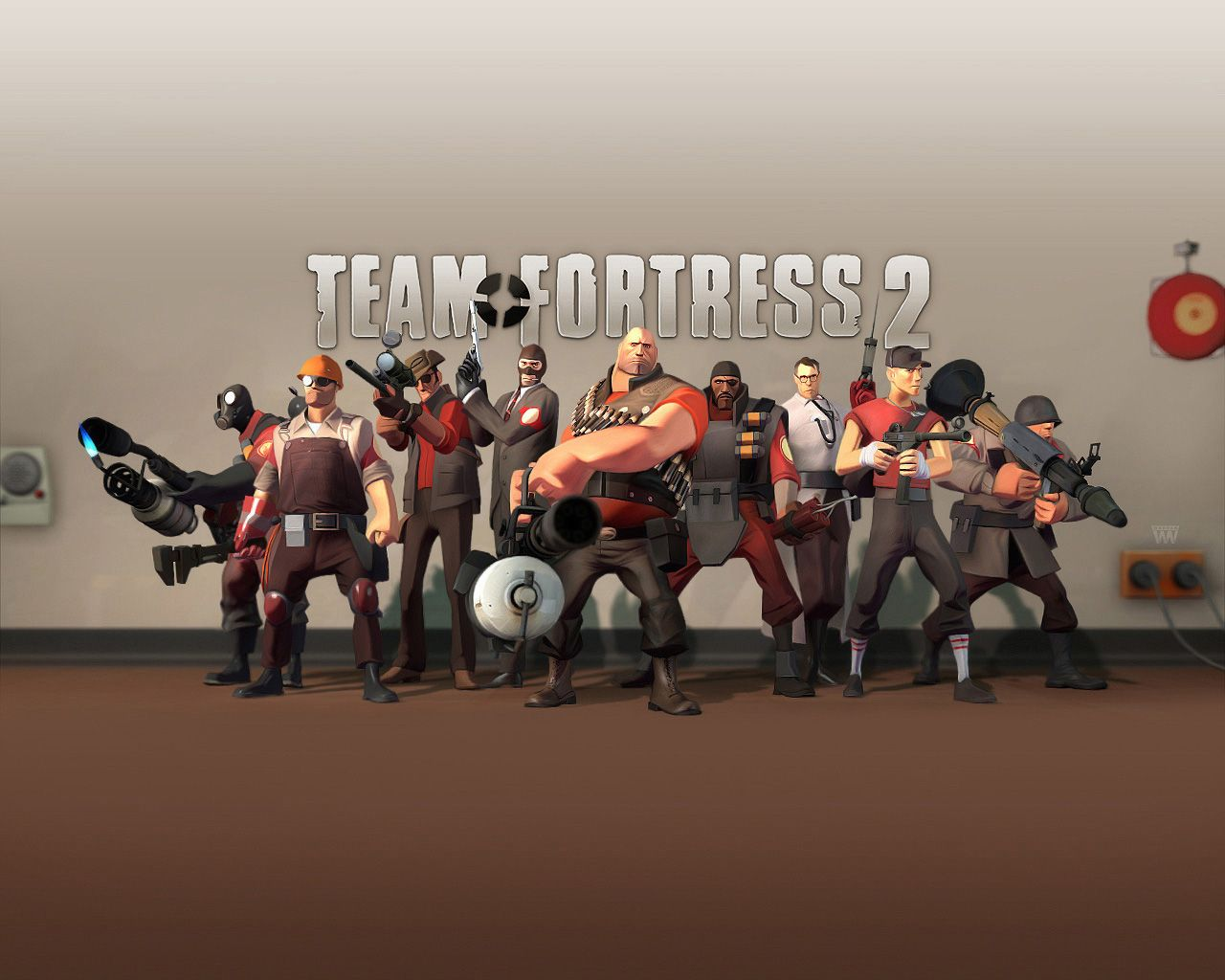 Team Fortress 2 Computer Wallpapers Desktop Backgrounds 1280x1024 Id 25866