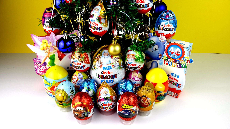 30 Kinder Surprise Surprise Eggs Cars Disney Pixar Cars 2 Mickey Mouse Happy New Year  #kindertoy #Disney #Surpriseegg #mickeymouse #toysstory #hellokitty #spongebob #disney #youtube #Playmobil #PeppaPig #disneypixar #toystory #youtube #surprisetoys #mashems #thomasandfriends #surpriseeggs #playdoh #playdough