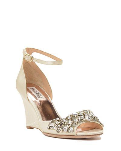 0dfbbd97f67847 Badgley Mischka Wedding Shoes
