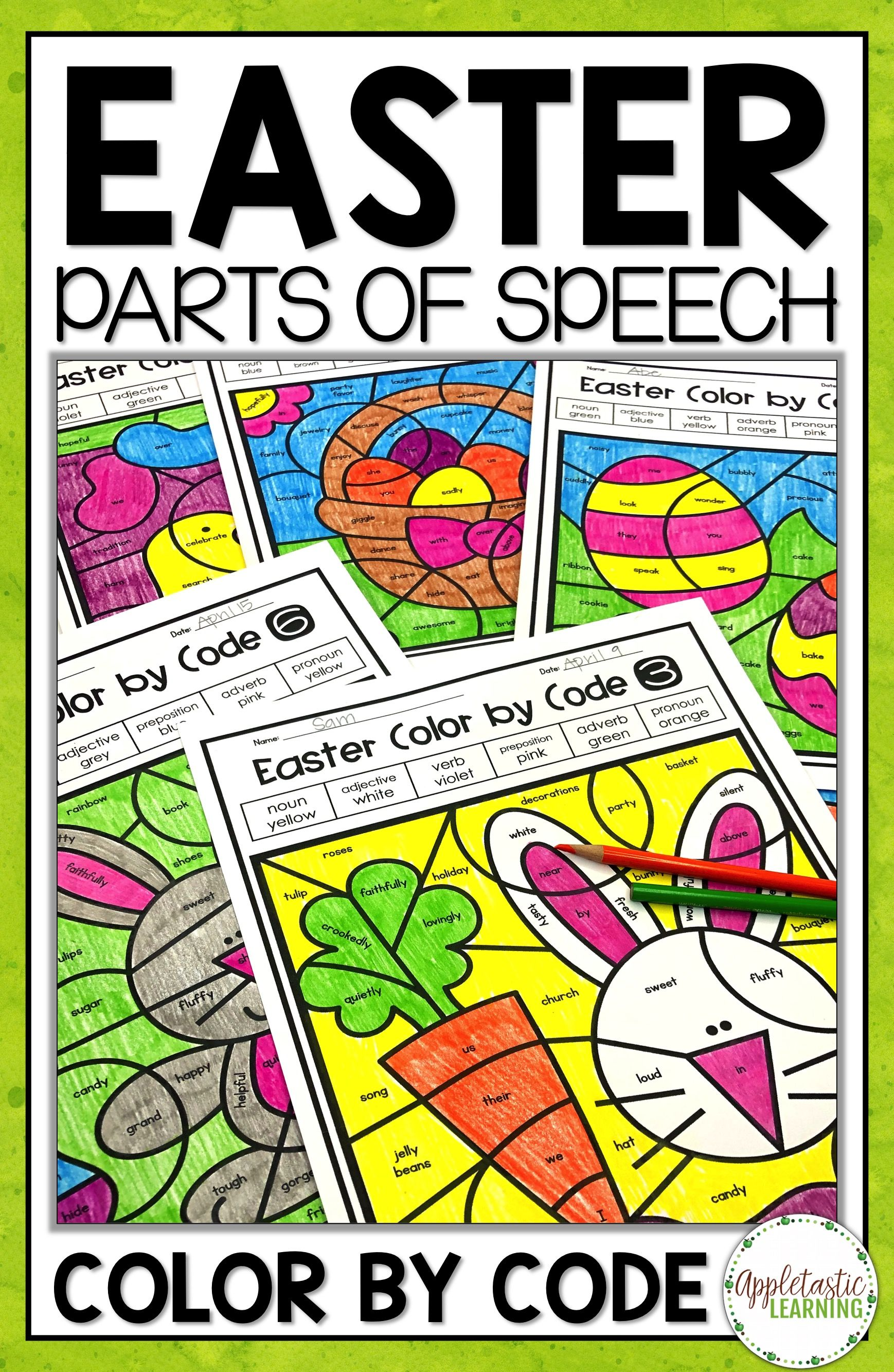 These Easter Coloring Pages Are Perfect For Parts Of