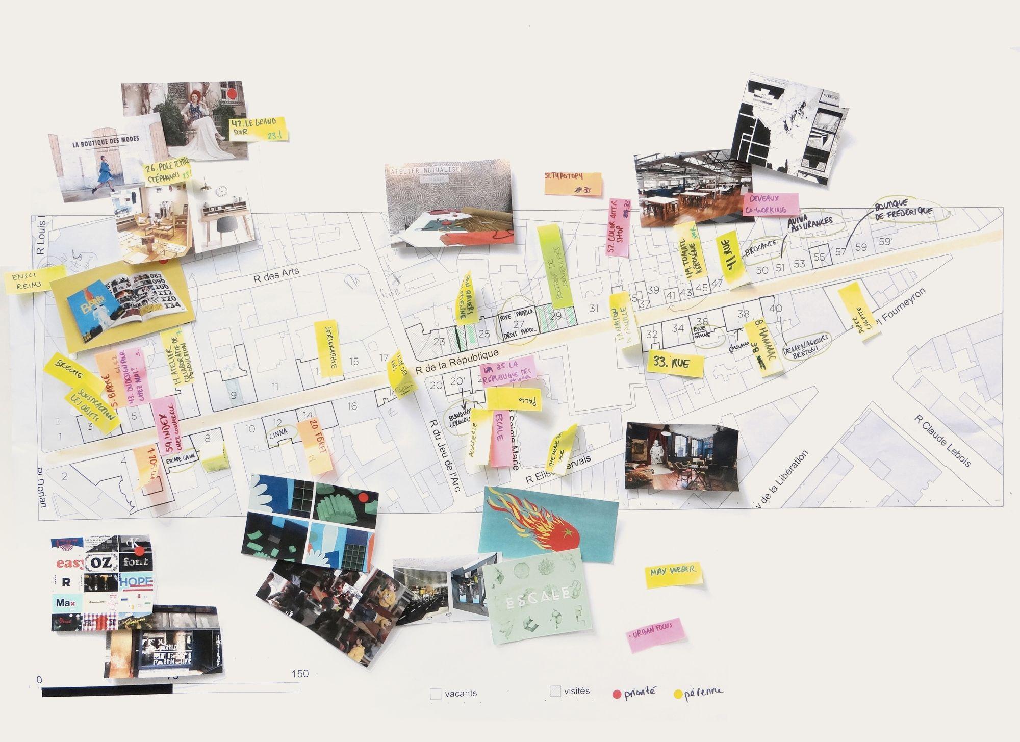 Rue de la République du design est un projet d'expérimentation qui questionne les nouveaux modes d'habiter et d'occupation des centre-ville. À l'occasion de la Biennale Internationale Design Saint-Étienne 2017, la rue de la République deviendra un véritable laboratoire qui permettra de réactiver tant ses pas de portes que ses espaces publics.