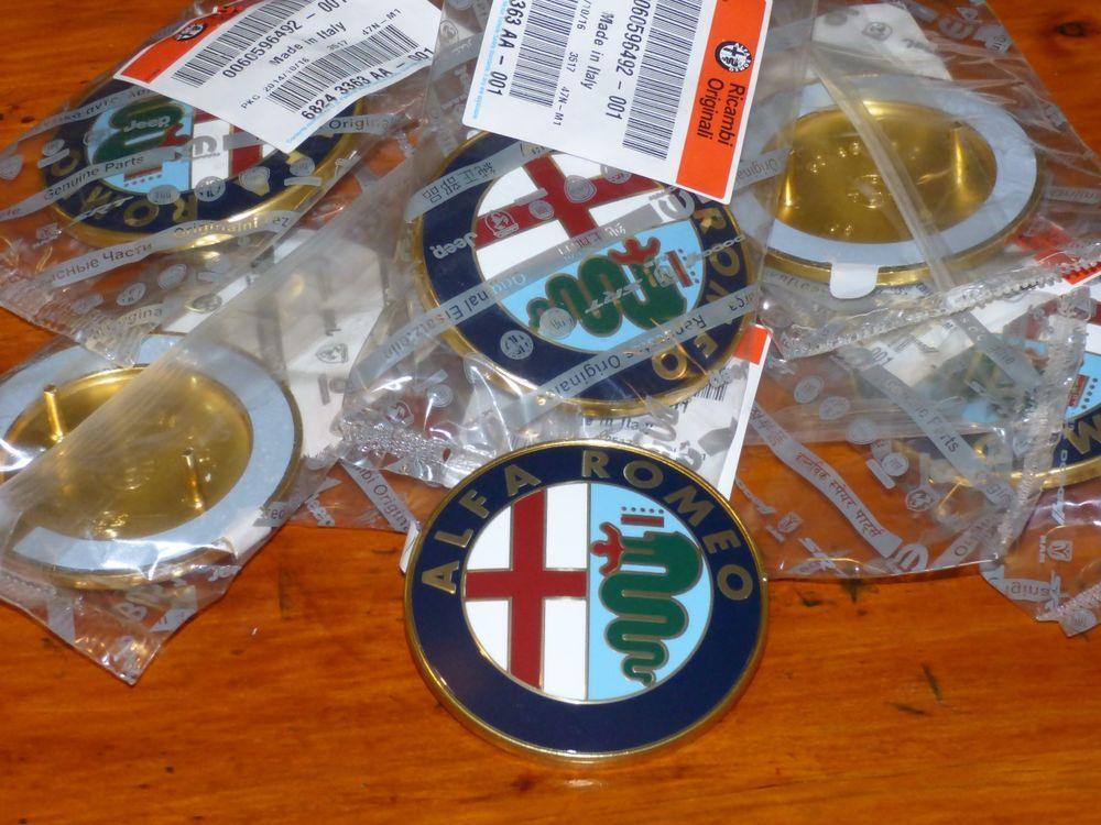 Alfa Romeo Original Grille Boot Badge Gtv6 33 75 155 156 164 75mm 2 Pins Adh Badge Alfa Romeo Logo Alfa 164