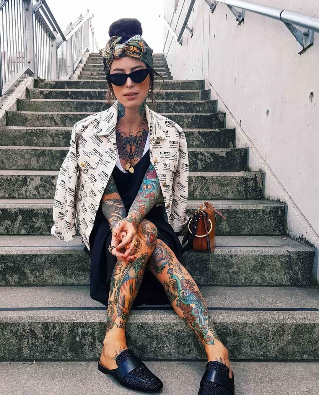 Tattooed model and fashion blogger Sammi Jefcoate, inked girl | United Kingdom, Italy | #inkpplcom #inkpeople #inked #tattoo #models #tattooed #inkedmodel #inkedgirls #tattooedmodel #alternativemodel #famoustattooedgirl #fashionmodel #inkmodels #inkmodel #inkgirls #tattooedgirls