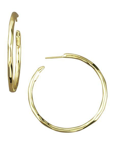 b3af990d995 Yossi Harari 24-Karat Gold Hoop Earrings - Fine Jewelry | Gold Rush ...