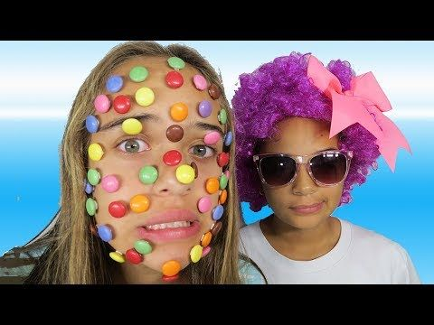 BAD KIDS CHOCOLATE FACE Learn Colors with Gumballs Candy Nursery - möbel pallen küchen