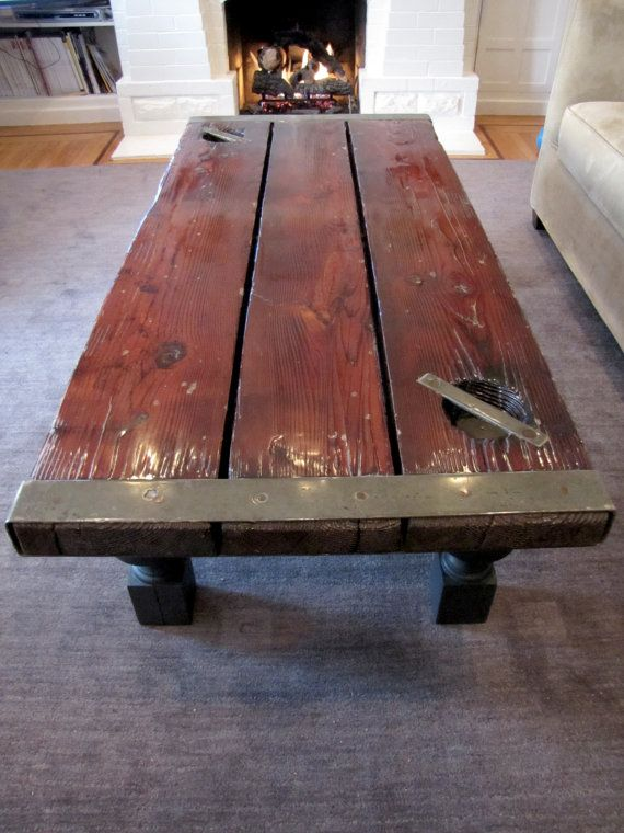SHIP HATCH DOOR Table, World War 2, Liberty Ship Antique Coffee Table,  Nautical Furniture, Rare Antique Furniture, Nautical Decor On Etsy,  $2,400.00