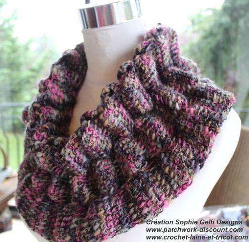 modele de crochet en laine