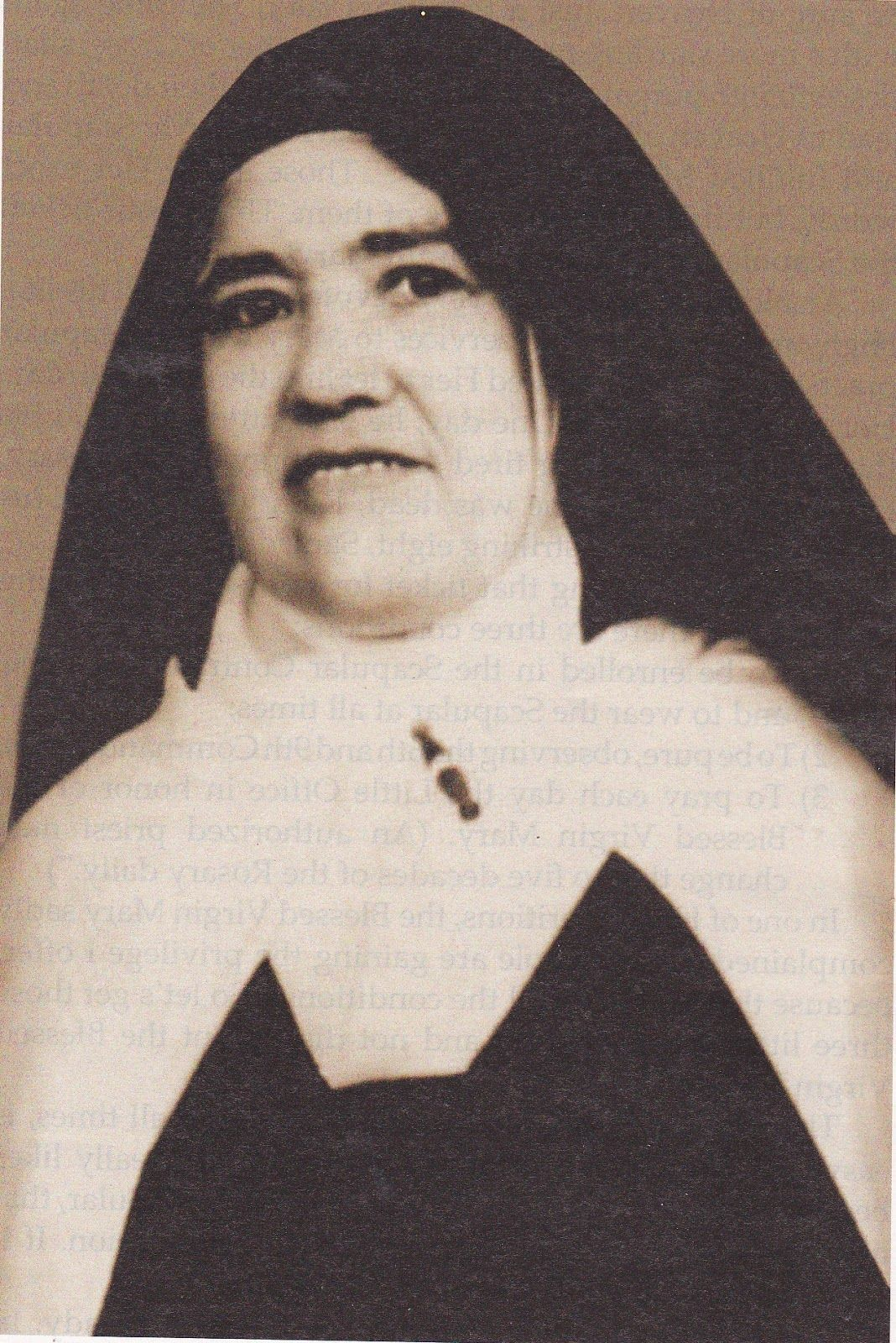 Lucia Dos Santos Of Fatima Sister Lucia Of Jesus Lady Of Fatima