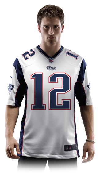 brand new 1c1e8 0dce0 NFL New England Patriots (Tom Brady) Men's Football Away ...