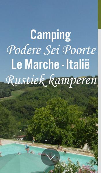 Een Kleinschalige Ruim Opgezette Familie Camping Met Zeer Ruime
