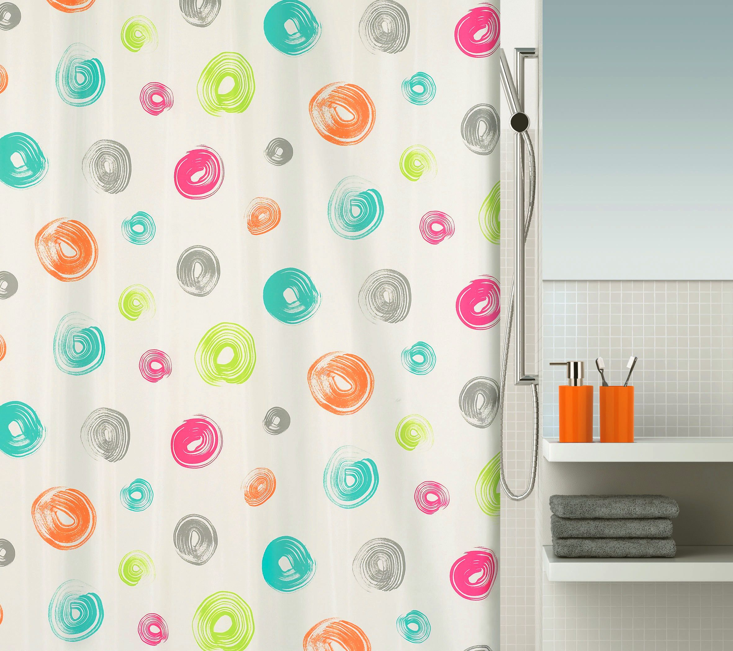 Fab #Spirella shower curtain. Pattern: Brush. #bathroom | Spirella ...