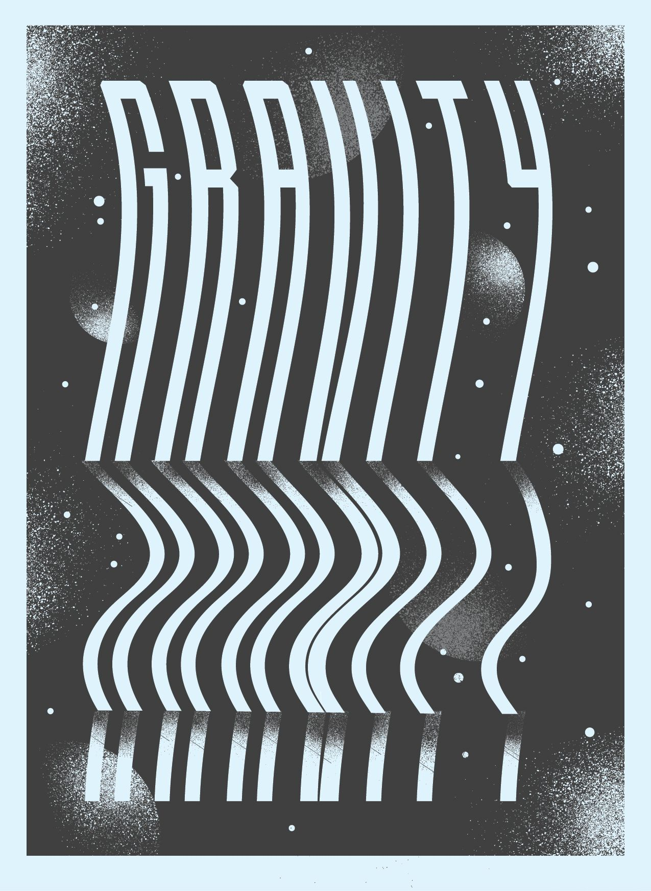 space inspired type Google Search Gravity, Types of