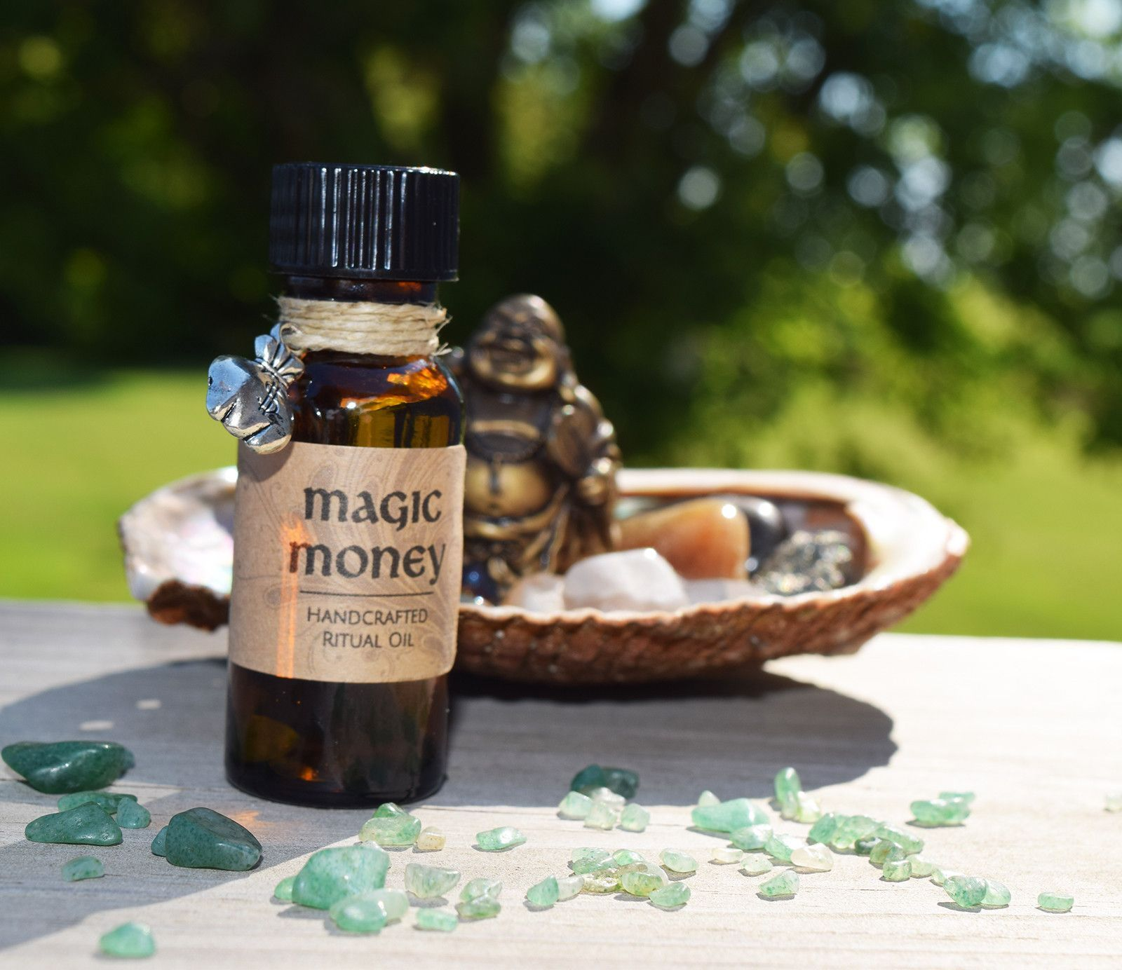 MAGIC MONEY OIL is my own special concoction that I