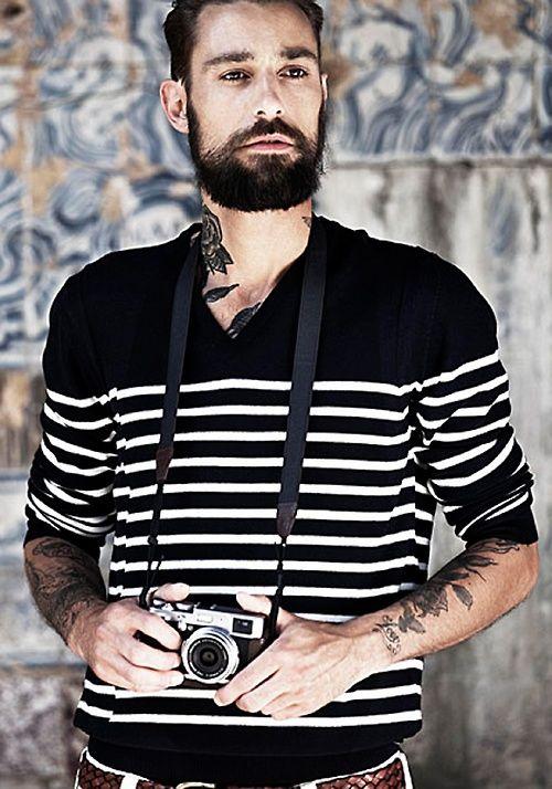Camera on stripes...cool