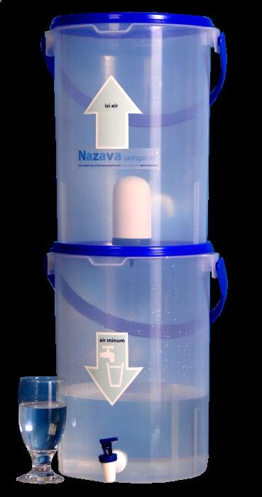 Nazava Transparent Series water filter produces water that is safe to drink about $15.00 not including shipping...filters 7000 liters...filters less then $10.00