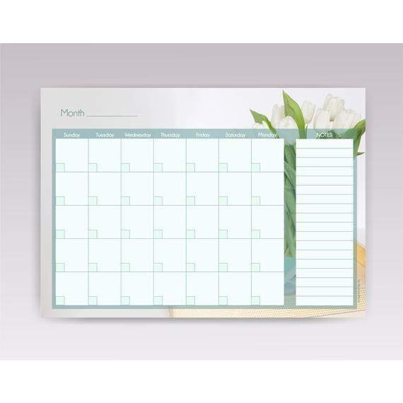 Monthly Garden Planner Undated Gardening Calendar Printable