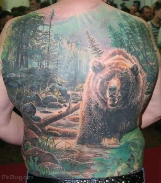Best Tattoos In The World | Best Bear World Tattoo | Tattoos (i ...