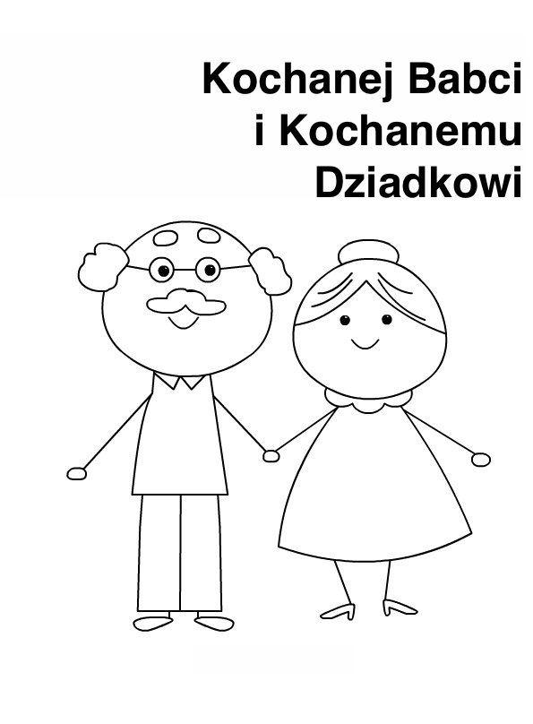 Laurki Do Kolorowania Na Dzien Babci I Dziadka Do Druku Dla Dzieci