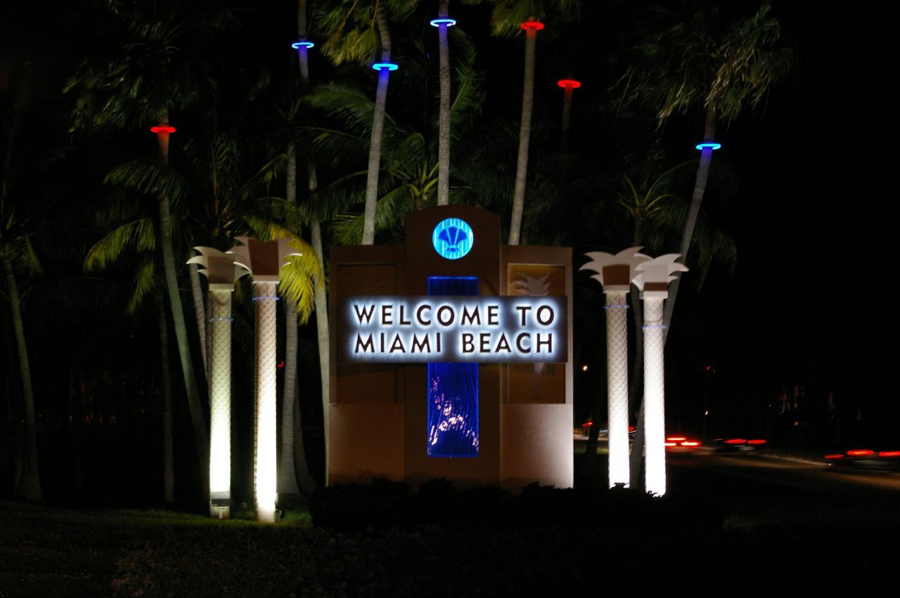 Welcome To Miami Sign Google Search