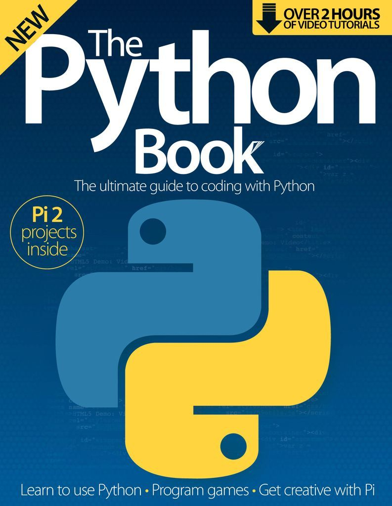 The Python Book Magazine (Digital) in 2020 Python book