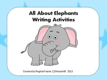 Elephants writing prompts graphic organizers diagram graphic have your students fill out these graphic organizers and writing prompts to show off their knowledge ccuart Images