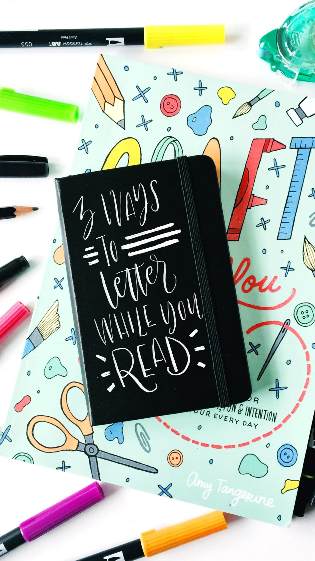 3 Ways To Letter While You Read With Tombow Usa