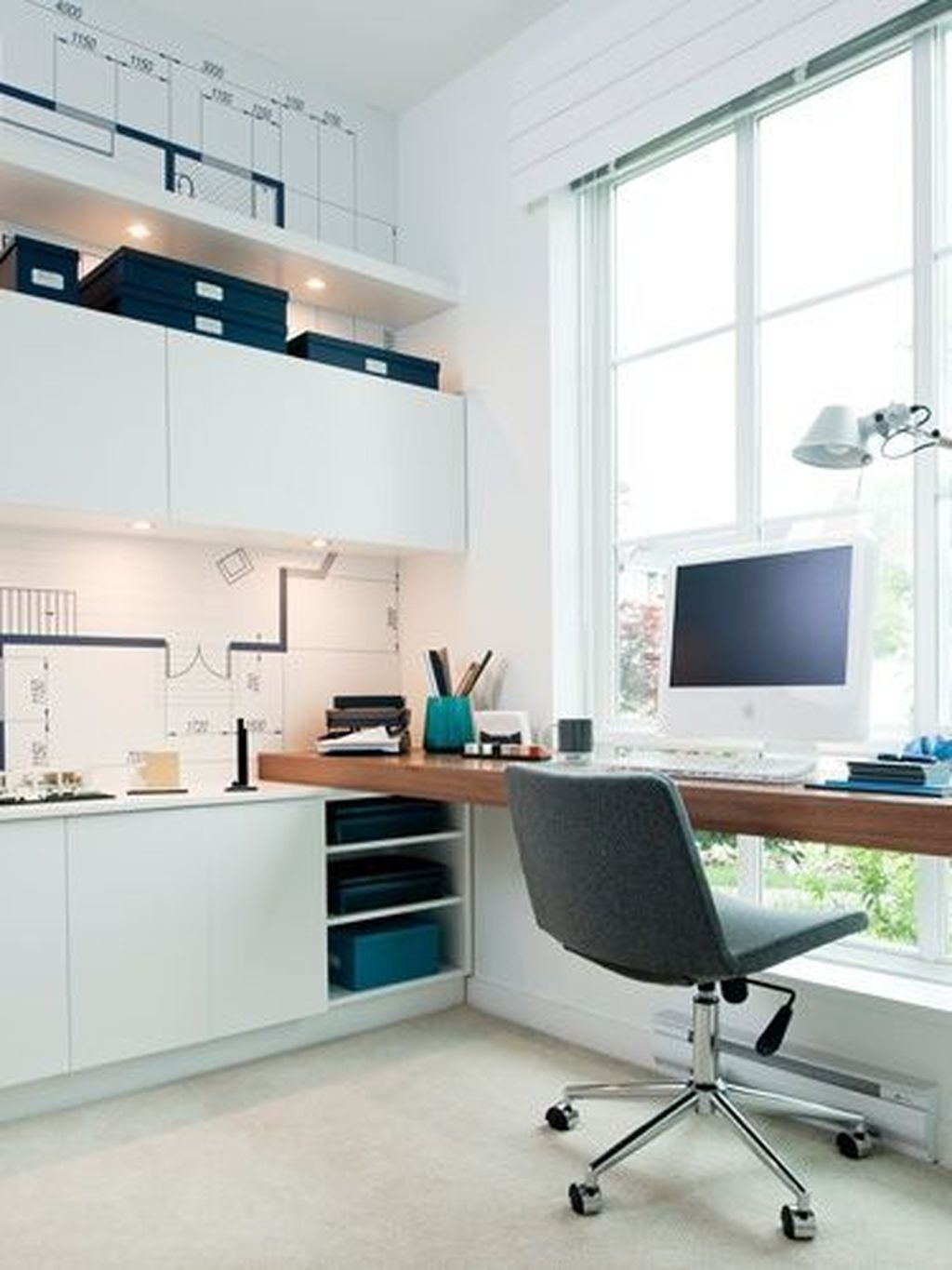 34 Cool And Thoughtful Home Office Storage Ideas
