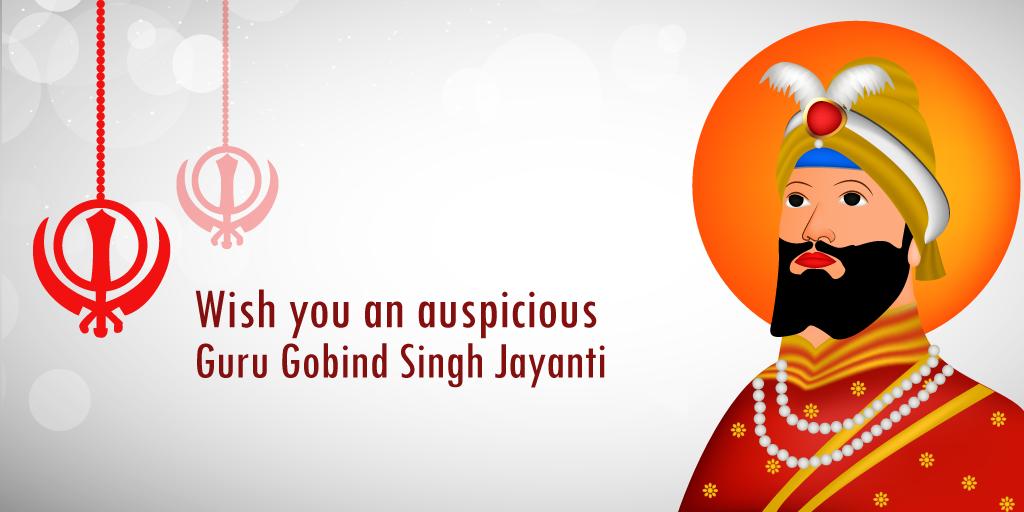 Guru Gobind Singh Jayanti will be observed tomorrow to commemorate the birth anniversary of the last Sikh Guru. He was born as Gobind Rai and the son of Guru Tegh Bahadur (ninth Guru of Sikhism), who gave his life to protect religious freedom of the people. Guru Gobind Singh, gave the Sikhs their very distinctive symbols— the Kesh (Uncut hair), the Kangha (Wooden Comb), Kara (iron or steel bracelet), Kacchera (Shorts) and the Kirpan (Sword). #PurityOfPrayer
