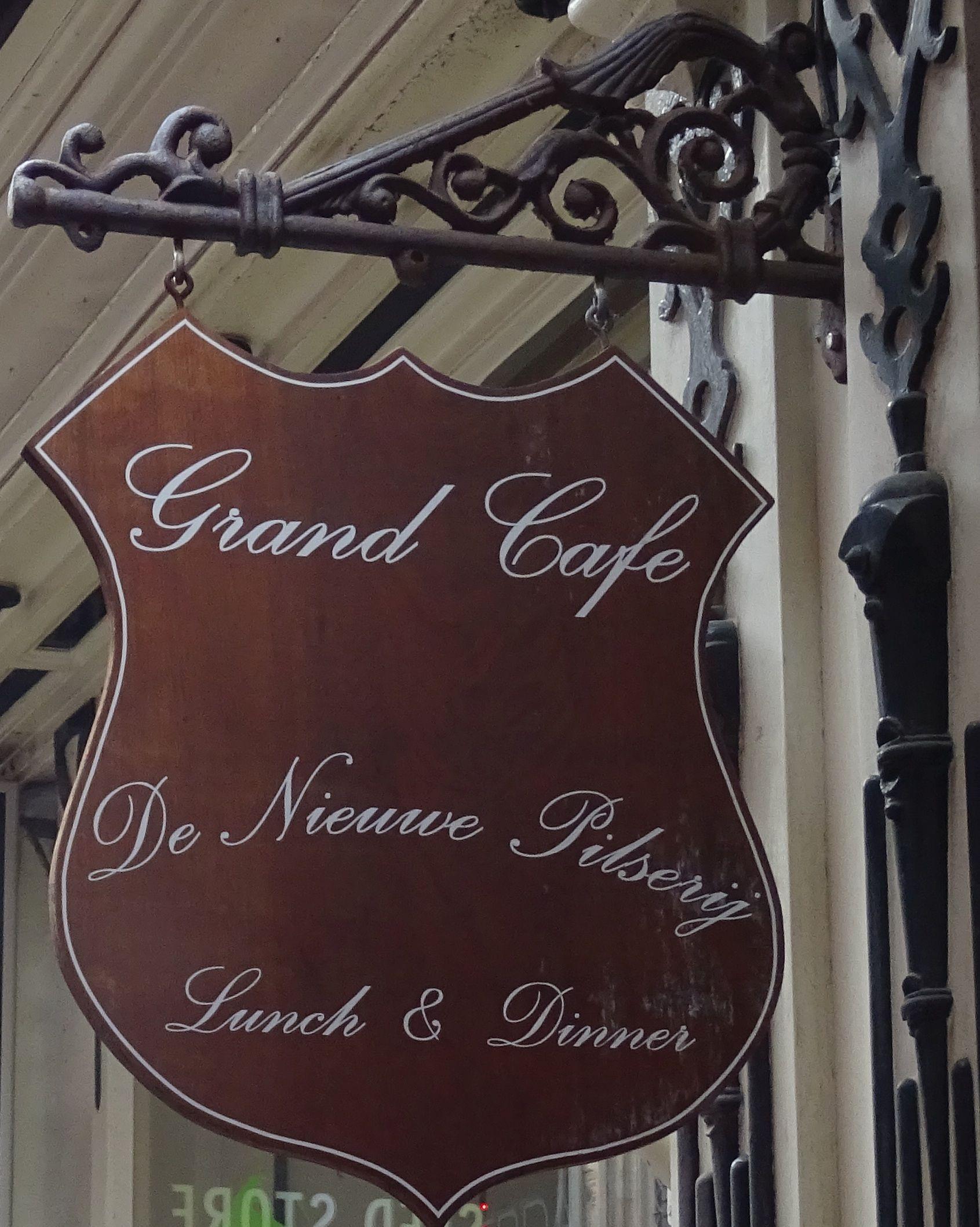 Amsterdam - Gravenstraat 10 - Grand café De Nieuwe Pilserij