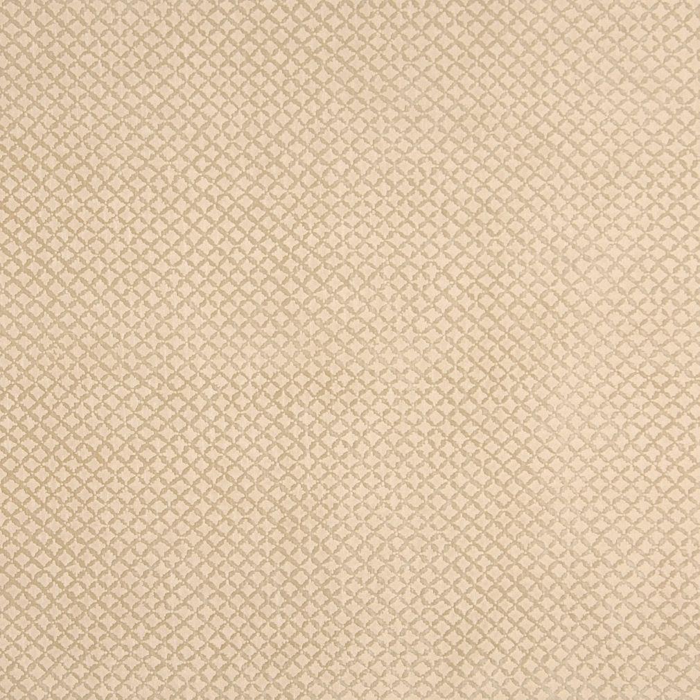 Tan Raised Diamond Microfiber Upholstery Fabric By The Yard