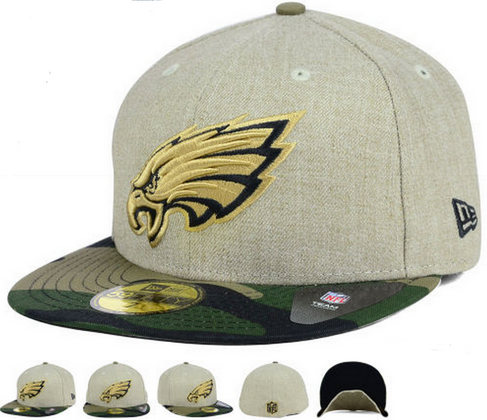9dac9941d Philadelphia Eagles New Era NFL Oatwood 59FIFTY Cap Hats