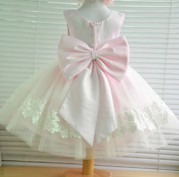 Beautiful First Birthday Dress But In Different Colours Maybe White And Red First Birthday Dresses Flower Girl Dresses Birthday Dresses