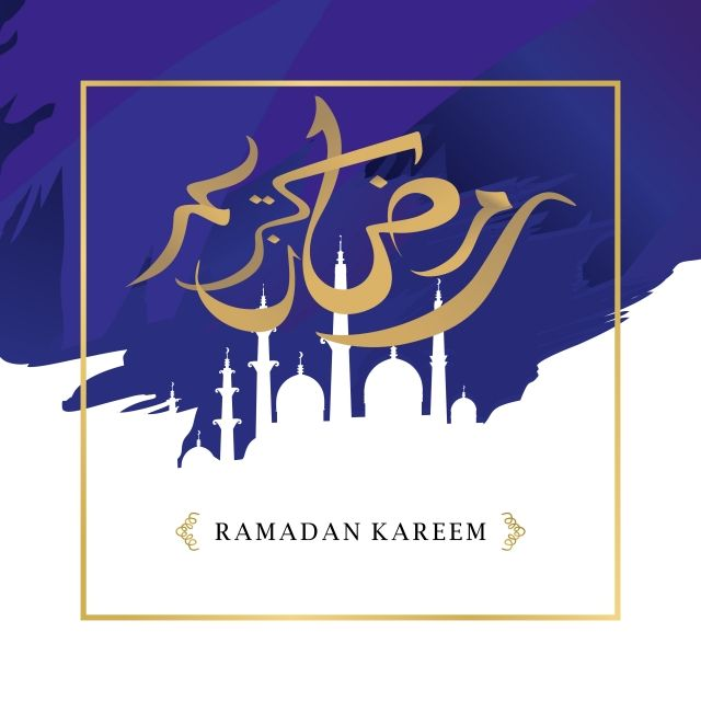 Ramadan Kareem Elegant Greeting Design With Arabic Calligraphy And Mosque Silhouette Style Vector Illustration Eps 10 Background Month Arabic Png And Vector Ramadan Kareem Mosque Silhouette Islamic Calligraphy Painting