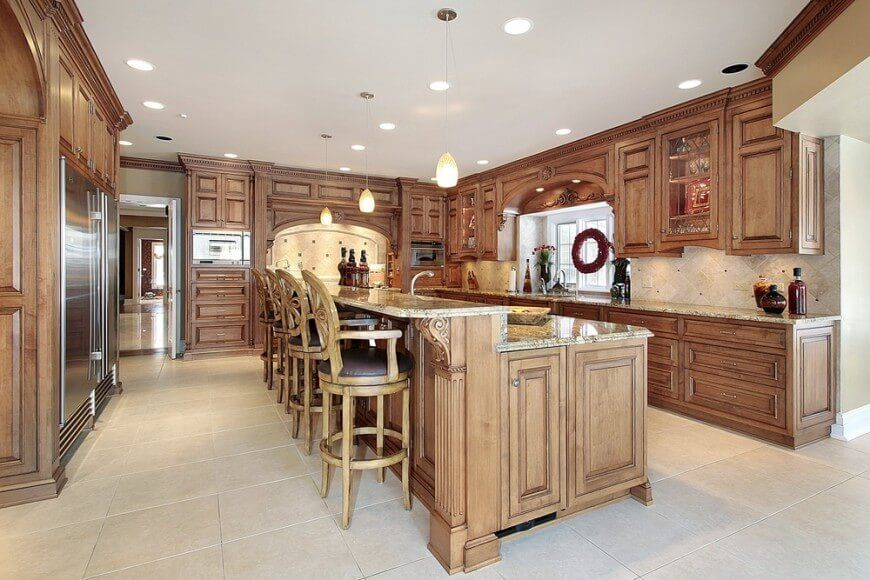 Custom Kitchen Designer Interesting 150 Ushape Kitchen Layout Ideas For 2017  Extra Storage Space Design Ideas