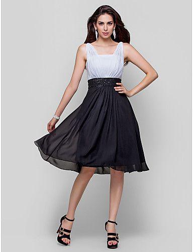 Vestidos de noche elegantes cortos para senoras