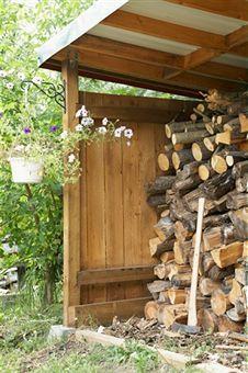 Bosmere Rowlinson A052 Firewood Storage Shed