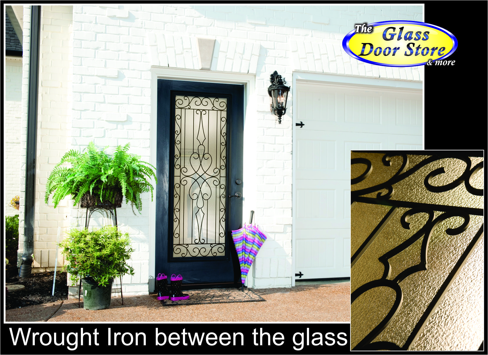 Wrought Iron Front Entry Glass Doors The Glass Door Store Tampa Glass Front Entry Doors Fiberglass Entry Doors Glass Door