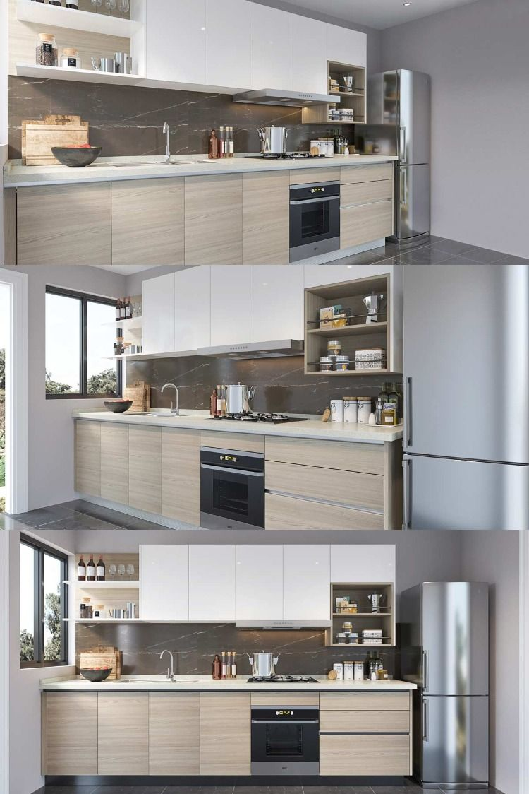 Nl Furniture I Shape Kitchen Cabinet With Lacquer Melamine In 2020 Kitchen Cabinets Kitchen Furniture