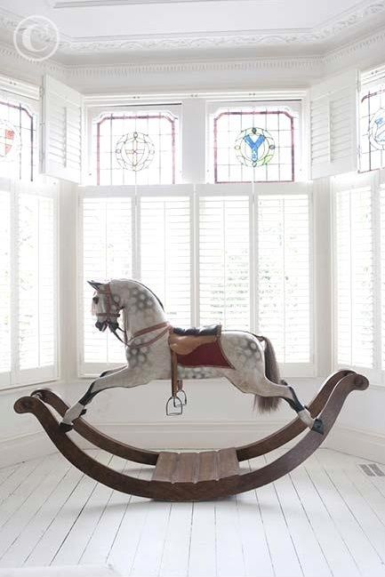 Strawberry Shortcake Blog That Is The Prettiest Rocking Horse For A Nursery