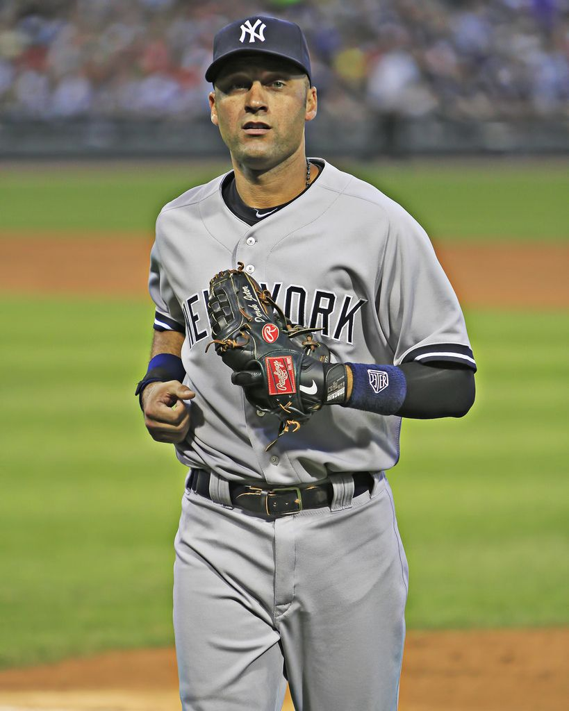 Derek Jeter Derek Jeter New York Yankees Ny Yankees