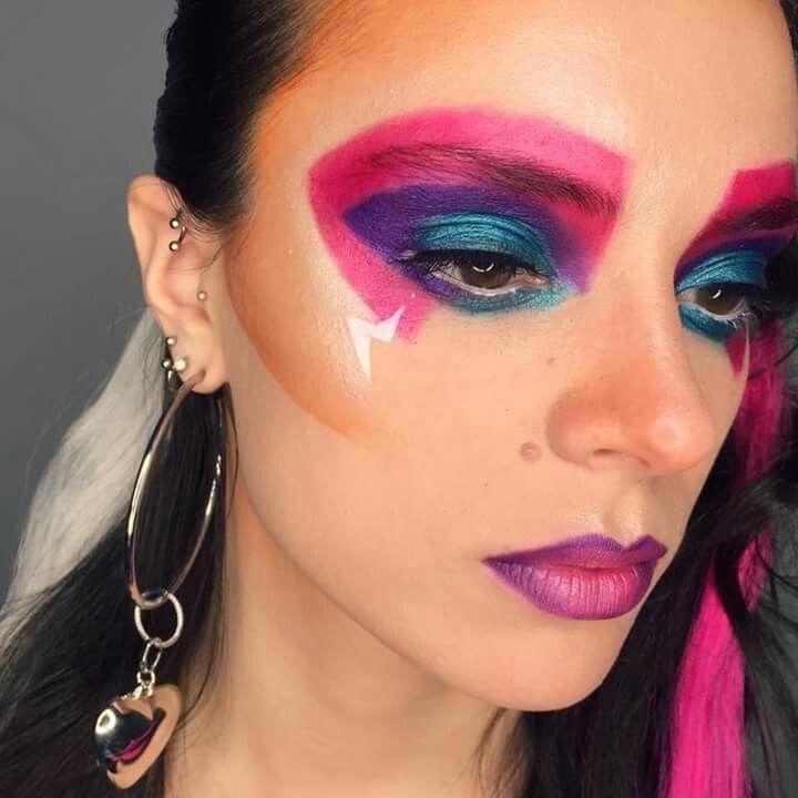 Maquillaje Años 80 Maquillaje Mis Trabajos Maquillaje Años 80