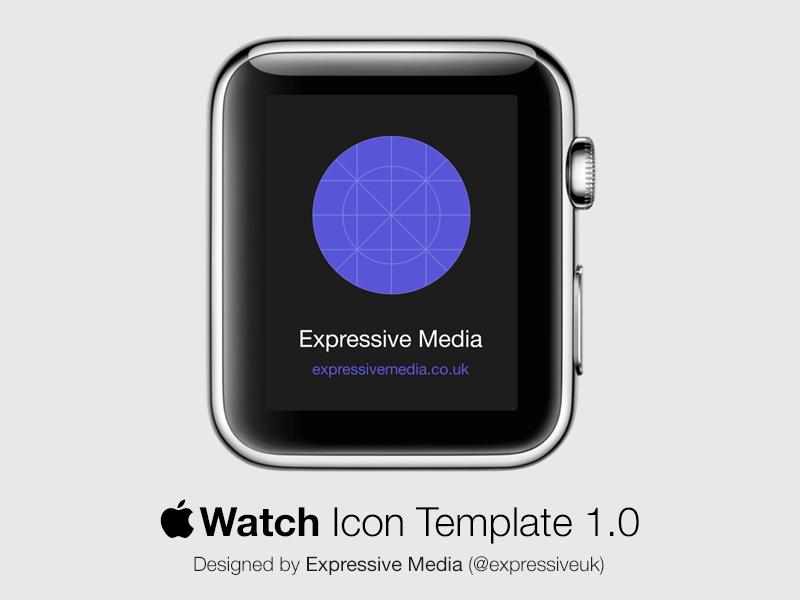Apple Watch Icon Template Free Apple Watch Apple Watch Apple