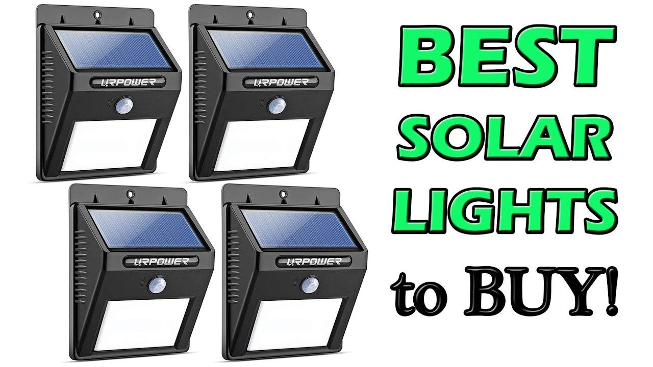 Best Solar Lights for Garden 2018 Also Best for Yard