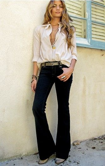 d10c22c590dd casual chic- not with denim for the office but with cowboy boots for sure